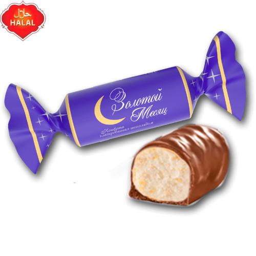 Конфеты «Алтын ай» глазированные шоколадом