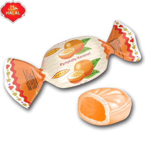 Карамель  фруктовая «Апельсиновая»